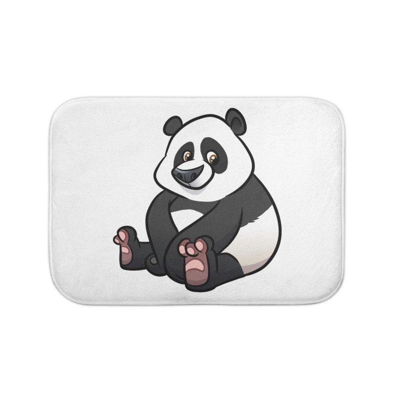 Giant Panda Home Bath Mat by binarygod's Artist Shop