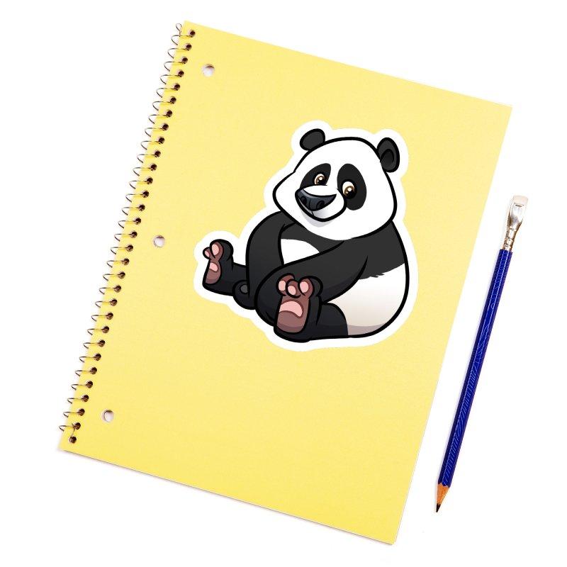 Giant Panda Accessories Sticker by binarygod's Artist Shop