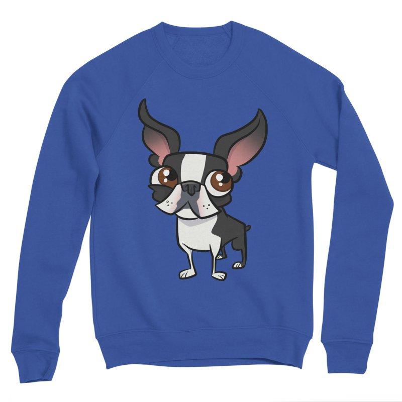 Boston Terrier Women's Sweatshirt by binarygod's Artist Shop