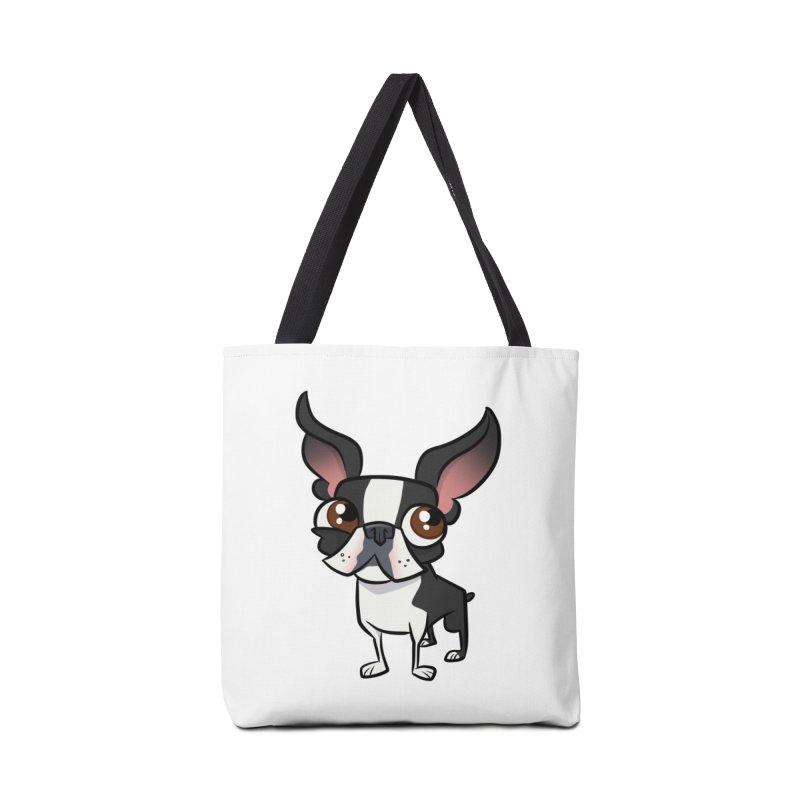 Boston Terrier Accessories Bag by binarygod's Artist Shop