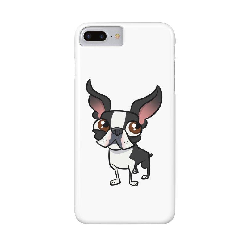 Boston Terrier Accessories Phone Case by binarygod's Artist Shop