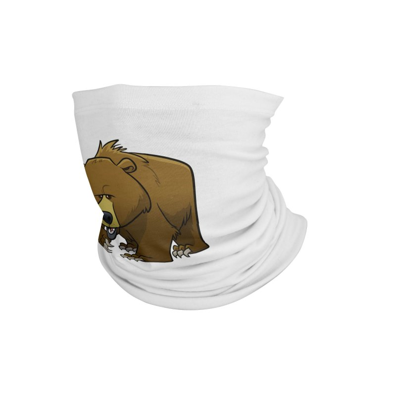 Grizzly Bear Accessories Neck Gaiter by binarygod's Artist Shop