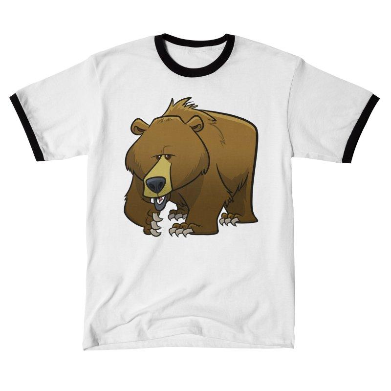 Grizzly Bear Men's T-Shirt by binarygod's Artist Shop