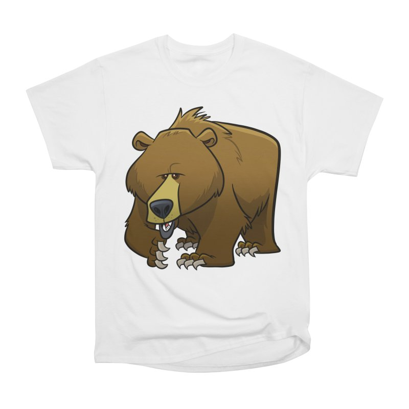 Grizzly Bear Women's T-Shirt by binarygod's Artist Shop