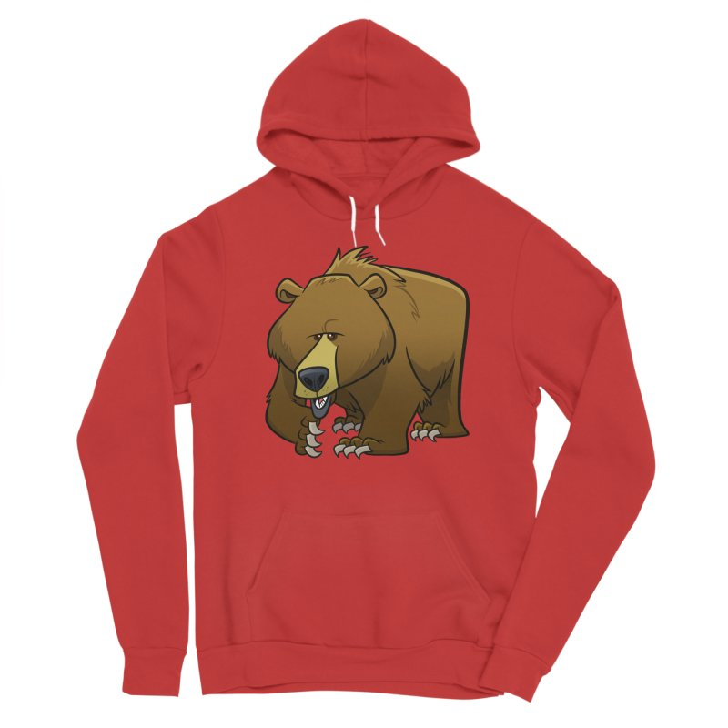 Grizzly Bear Women's Pullover Hoody by binarygod's Artist Shop