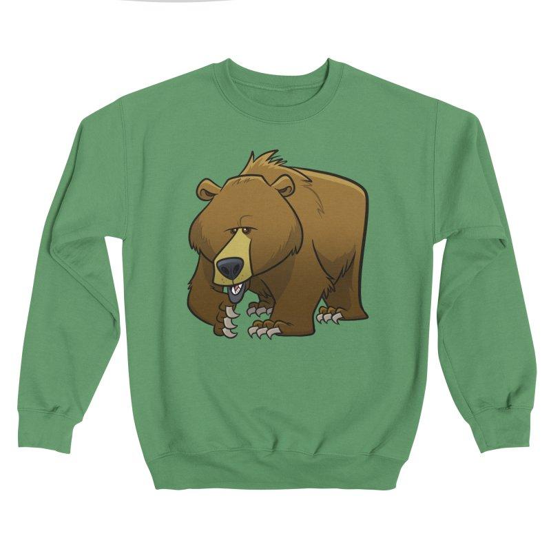 Grizzly Bear Women's Sweatshirt by binarygod's Artist Shop