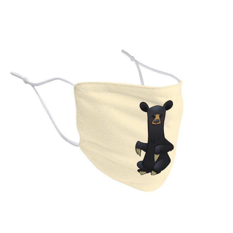 Black Bear Accessories Face Mask by binarygod's Artist Shop