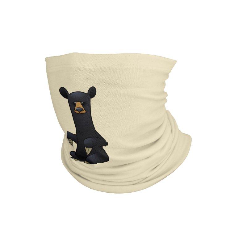 Black Bear Accessories Neck Gaiter by binarygod's Artist Shop