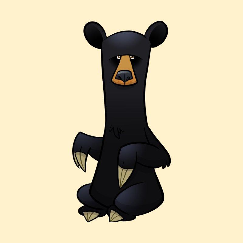 Black Bear Accessories Mug by binarygod's Artist Shop