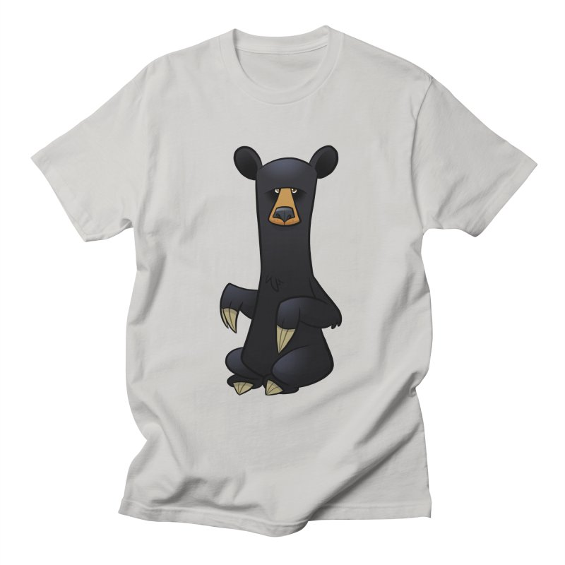 Black Bear Men's T-Shirt by binarygod's Artist Shop