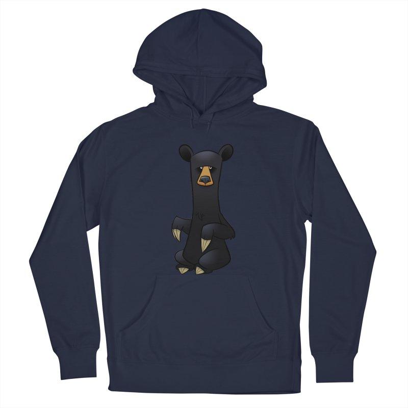 Black Bear Men's Pullover Hoody by binarygod's Artist Shop