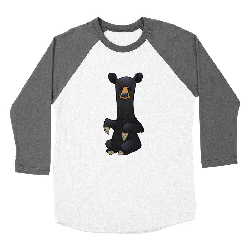 Black Bear Women's Longsleeve T-Shirt by binarygod's Artist Shop