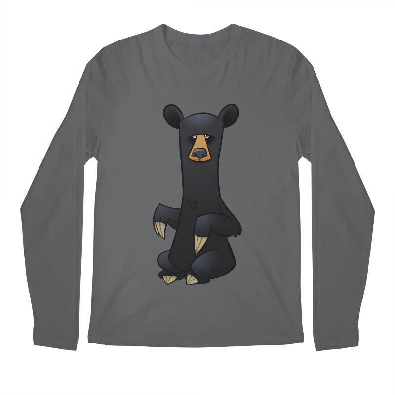 Black Bear Men's Longsleeve T-Shirt by binarygod's Artist Shop