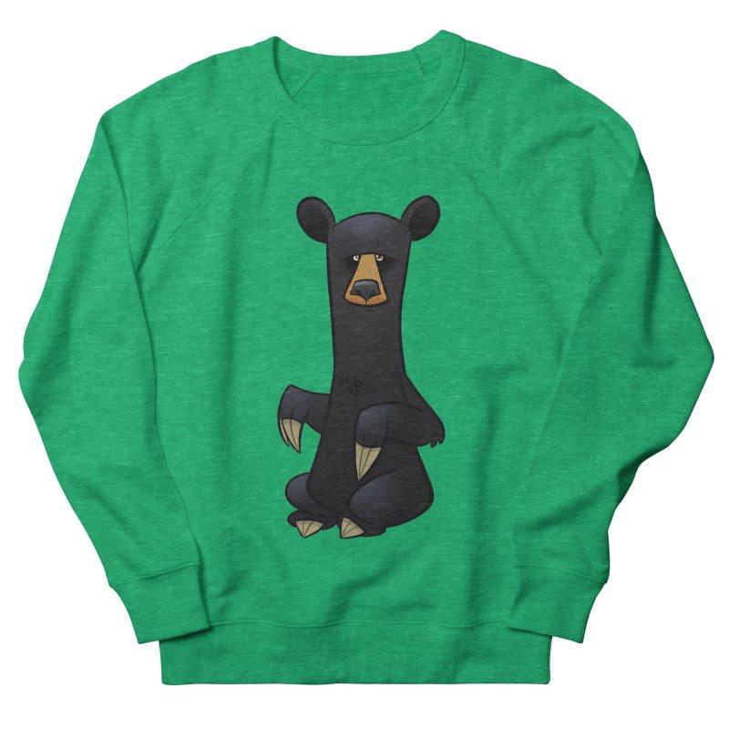 Black Bear Women's Sweatshirt by binarygod's Artist Shop
