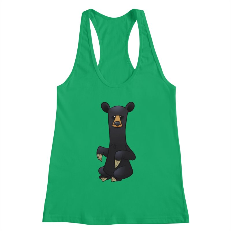 Black Bear Women's Tank by binarygod's Artist Shop