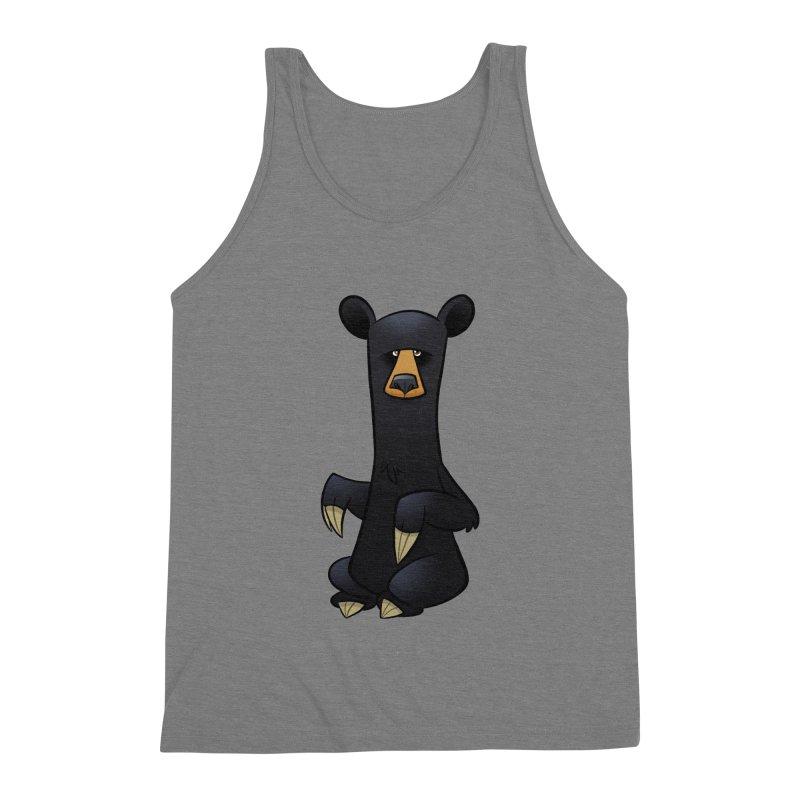Black Bear Men's Tank by binarygod's Artist Shop