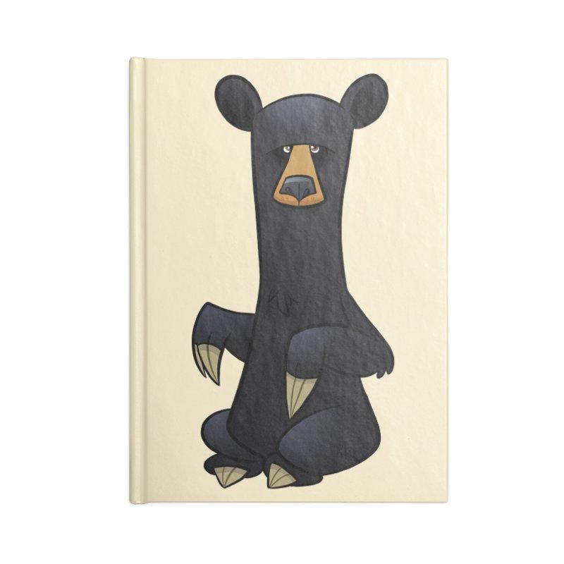 Black Bear Accessories Notebook by binarygod's Artist Shop