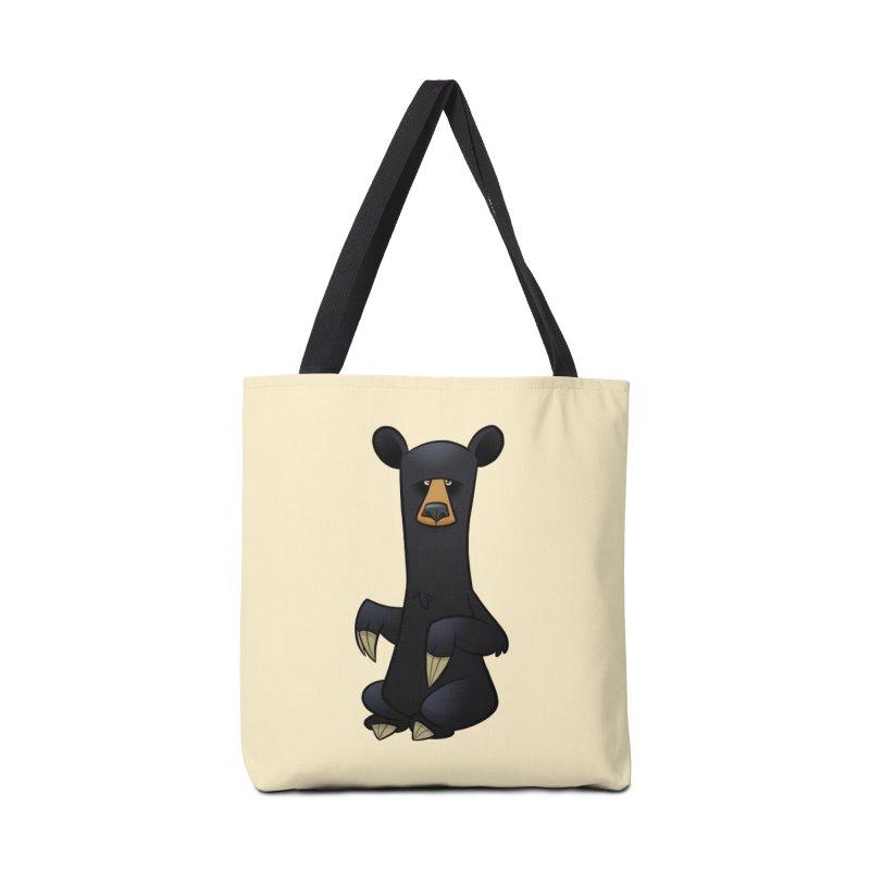Black Bear Accessories Bag by binarygod's Artist Shop