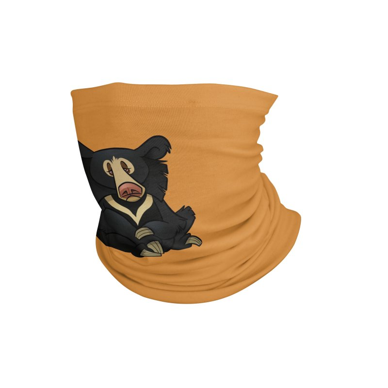 Sloth Bear Accessories Neck Gaiter by binarygod's Artist Shop