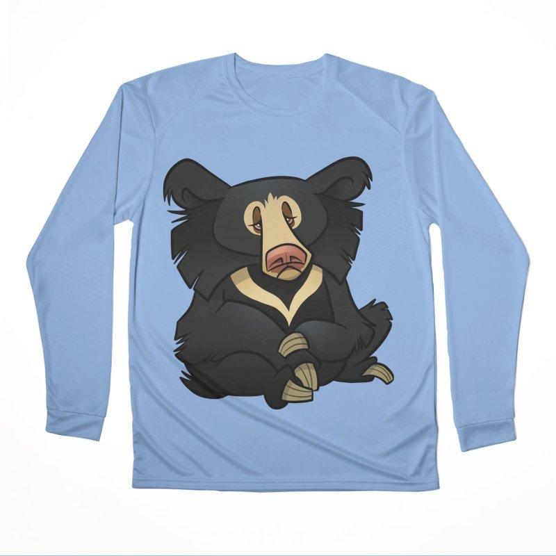 Sloth Bear Women's Longsleeve T-Shirt by binarygod's Artist Shop
