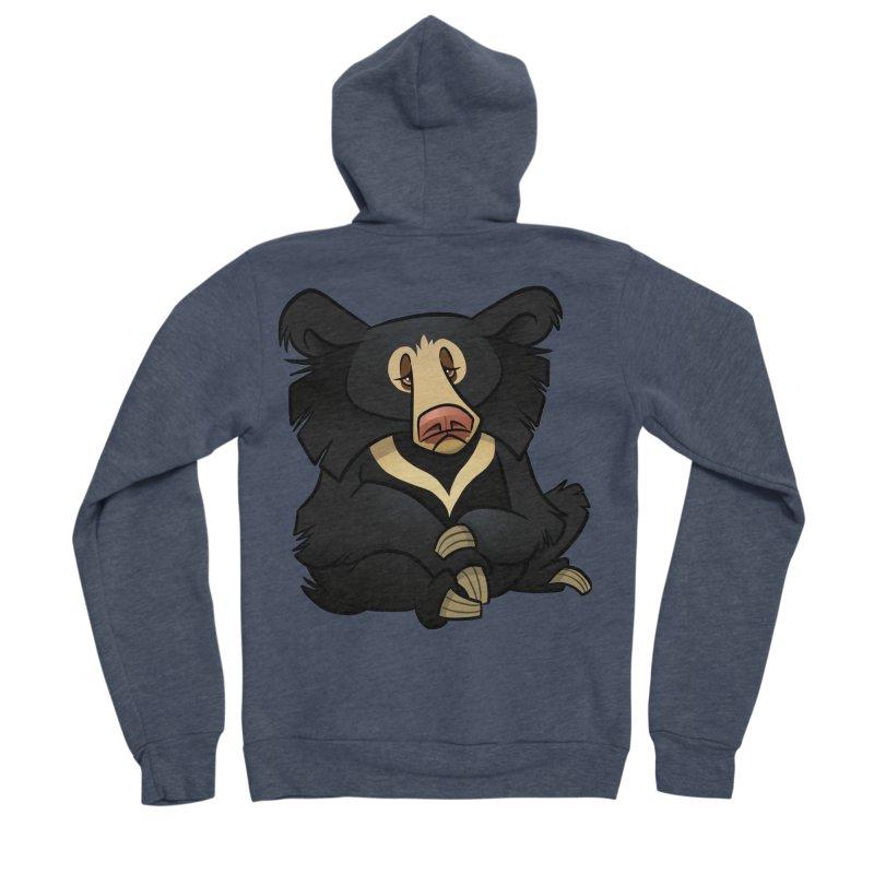 Sloth Bear Men's Zip-Up Hoody by binarygod's Artist Shop