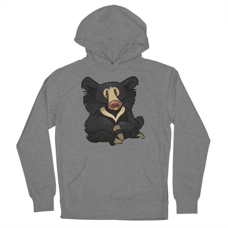 Sloth Bear Women's Pullover Hoody by binarygod's Artist Shop