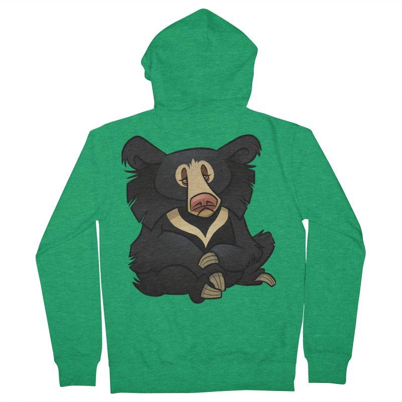Sloth Bear Women's Zip-Up Hoody by binarygod's Artist Shop