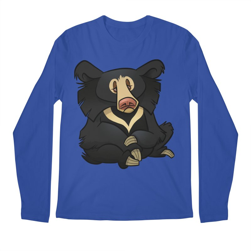 Sloth Bear Men's Longsleeve T-Shirt by binarygod's Artist Shop