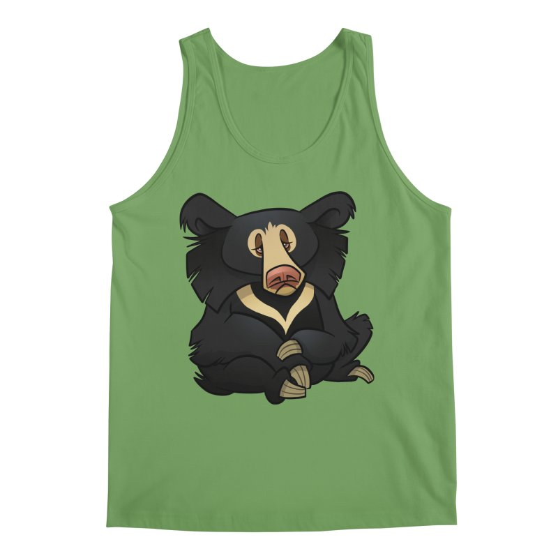 Sloth Bear Men's Tank by binarygod's Artist Shop