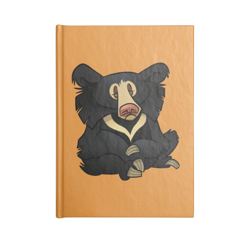 Sloth Bear Accessories Notebook by binarygod's Artist Shop