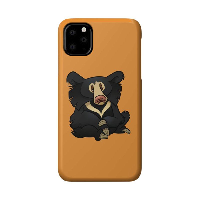 Sloth Bear Accessories Phone Case by binarygod's Artist Shop