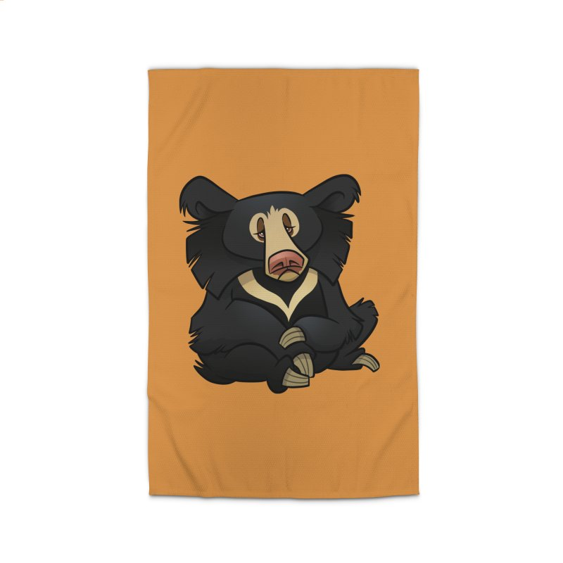 Sloth Bear Home Rug by binarygod's Artist Shop