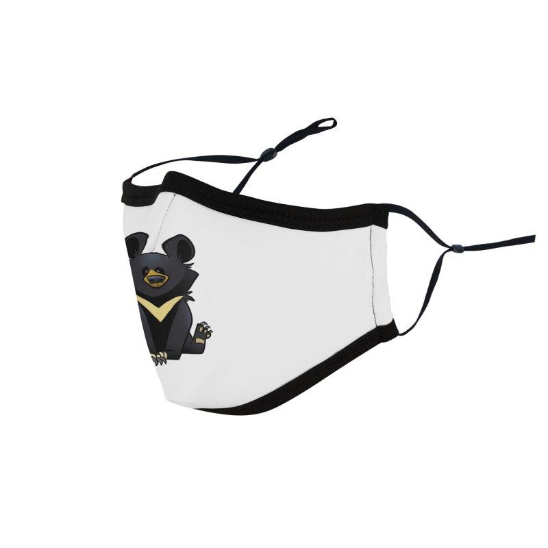 Moon Bear Accessories Face Mask by binarygod's Artist Shop