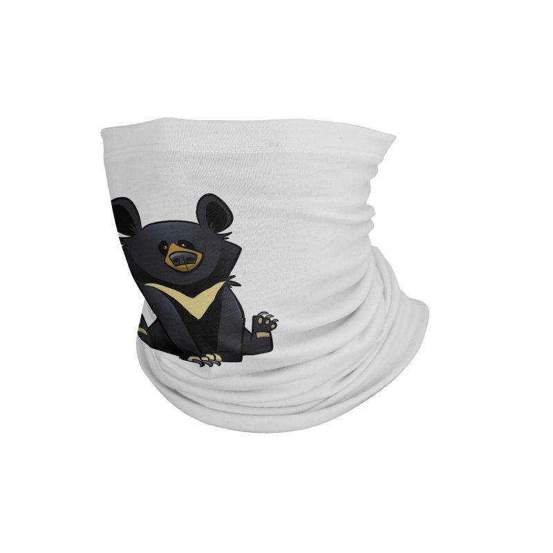 Moon Bear Accessories Neck Gaiter by binarygod's Artist Shop