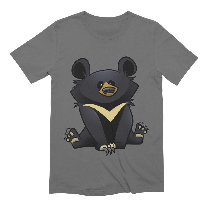 Moon Bear Men's T-Shirt by binarygod's Artist Shop