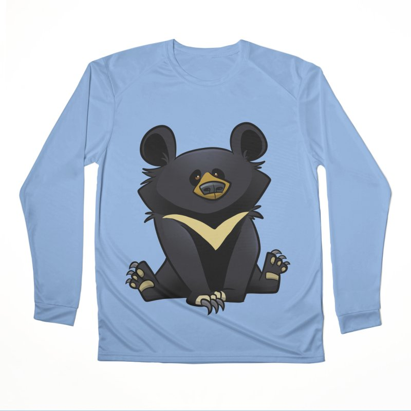 Moon Bear Women's Longsleeve T-Shirt by binarygod's Artist Shop