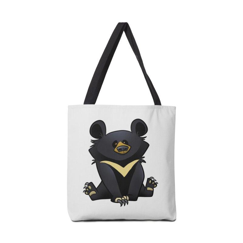 Moon Bear Accessories Bag by binarygod's Artist Shop