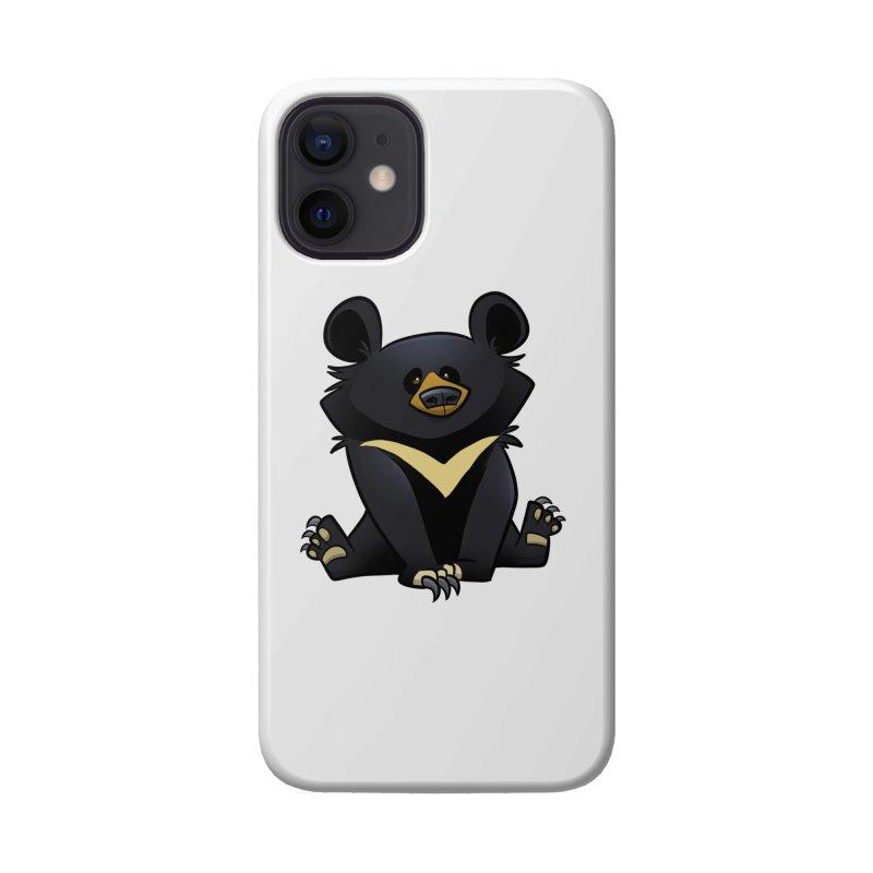 Moon Bear Accessories Phone Case by binarygod's Artist Shop