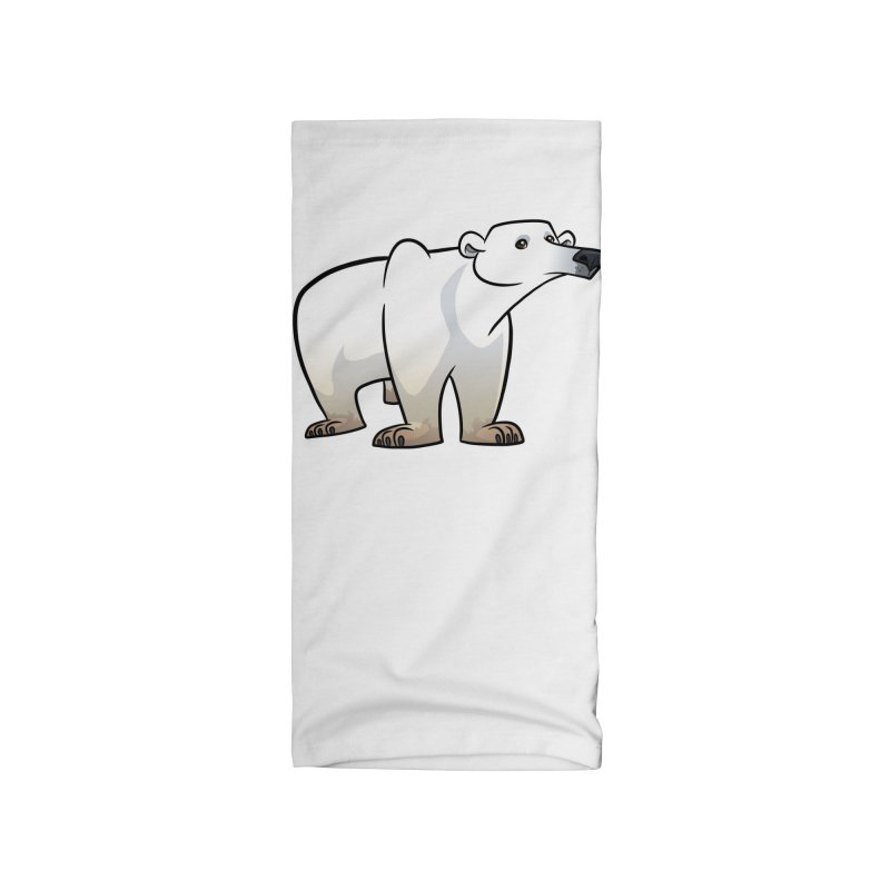 Polar Bear Accessories Neck Gaiter by binarygod's Artist Shop