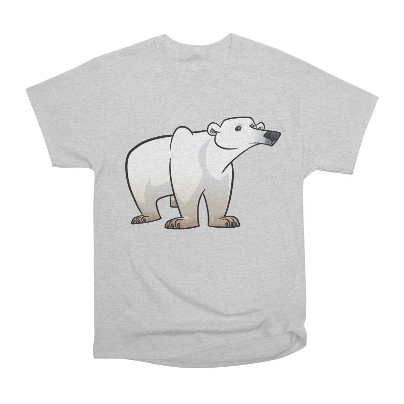 Polar Bear Men's T-Shirt by binarygod's Artist Shop