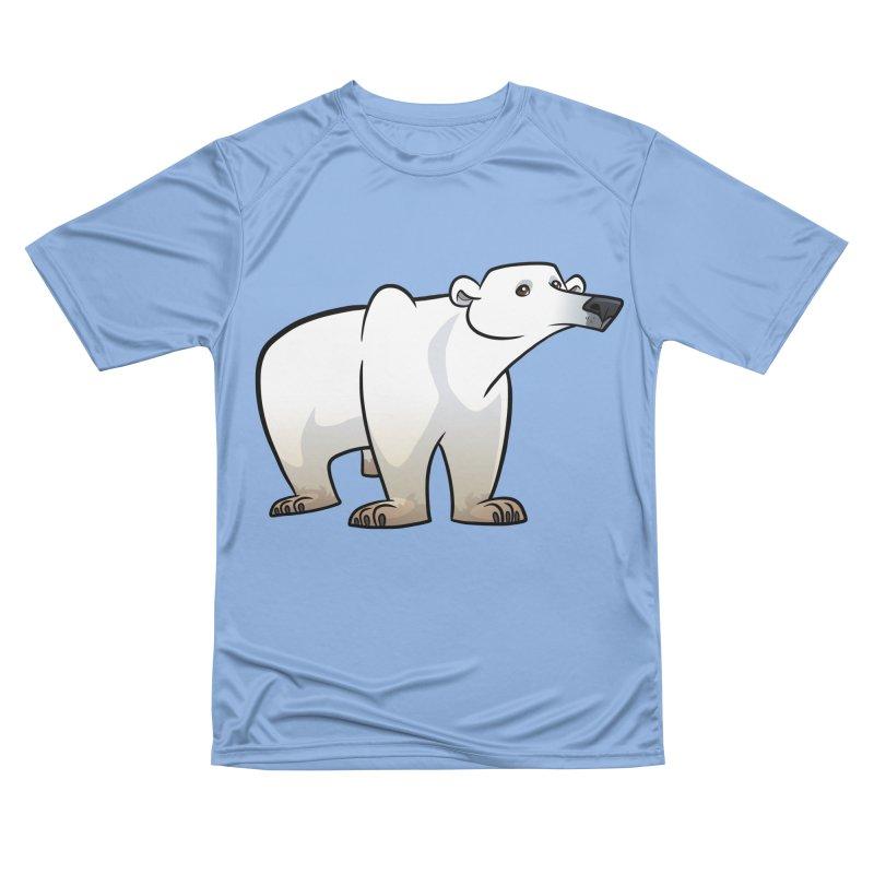 Polar Bear Women's T-Shirt by binarygod's Artist Shop