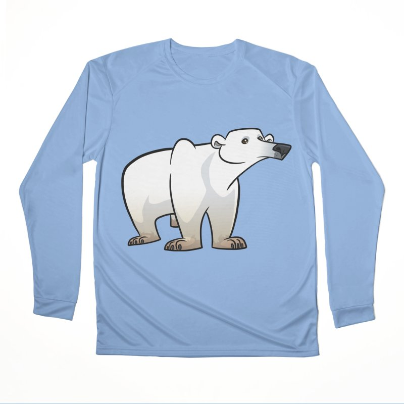 Polar Bear Women's Longsleeve T-Shirt by binarygod's Artist Shop