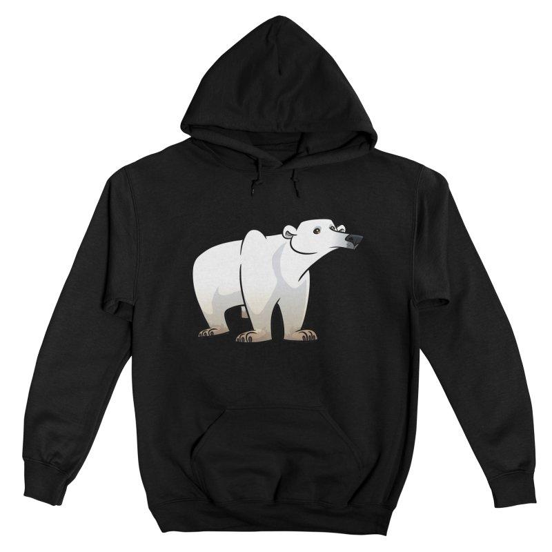 Polar Bear Men's Pullover Hoody by binarygod's Artist Shop