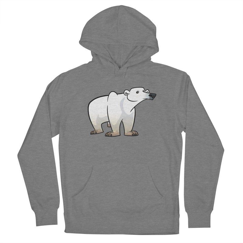 Polar Bear Women's Pullover Hoody by binarygod's Artist Shop