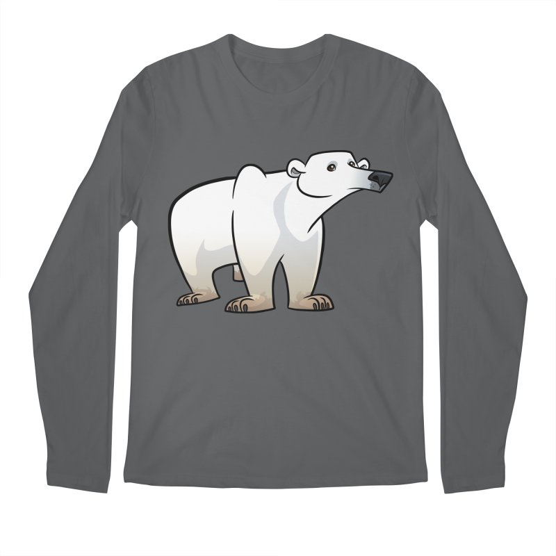 Polar Bear Men's Longsleeve T-Shirt by binarygod's Artist Shop