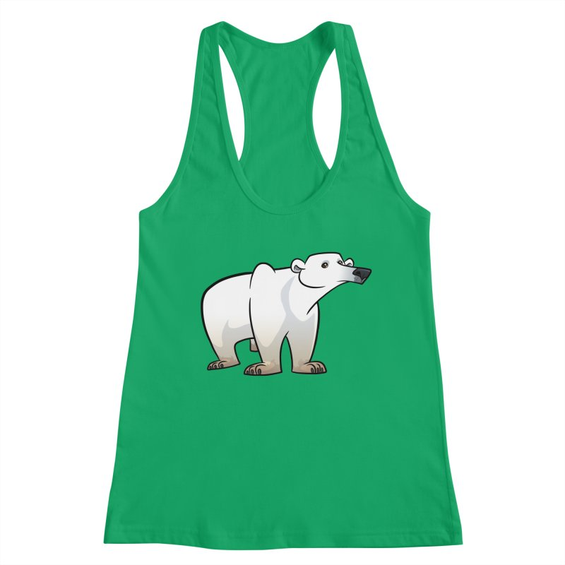 Polar Bear Women's Tank by binarygod's Artist Shop