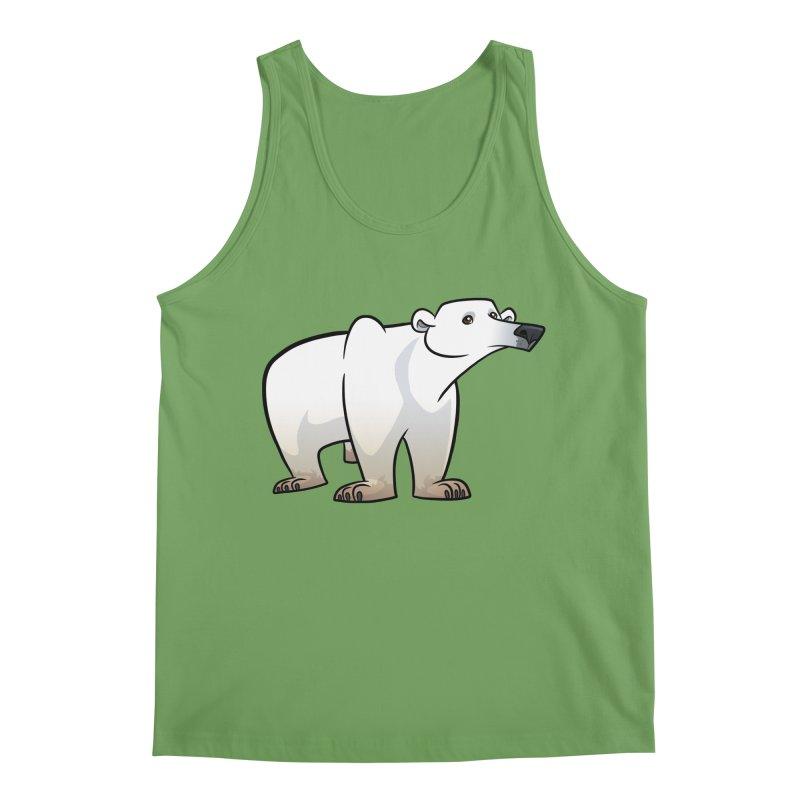 Polar Bear Men's Tank by binarygod's Artist Shop