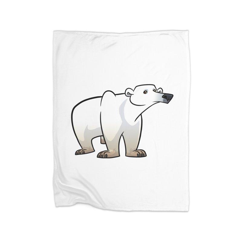 Polar Bear Home Blanket by binarygod's Artist Shop