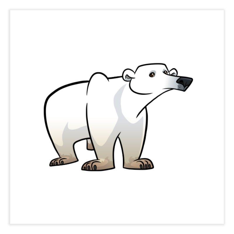 Polar Bear Home Fine Art Print by binarygod's Artist Shop