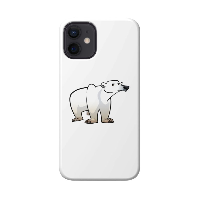 Polar Bear Accessories Phone Case by binarygod's Artist Shop
